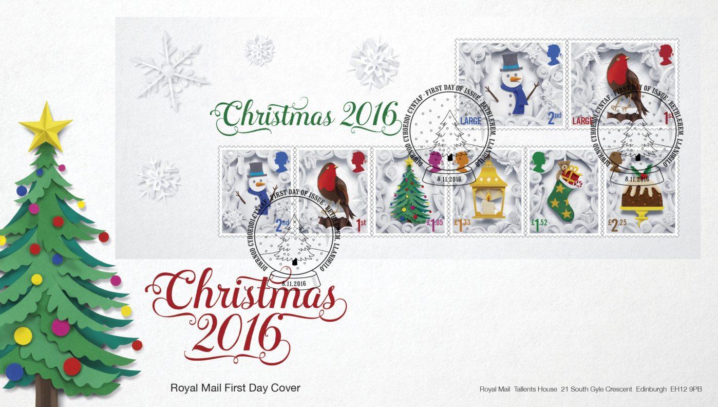 Royal Mail Christmas Stamps 4