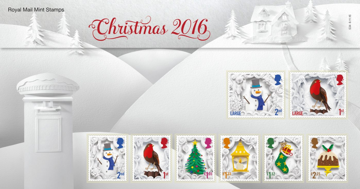 Royal Mail Christmas Stamps 5