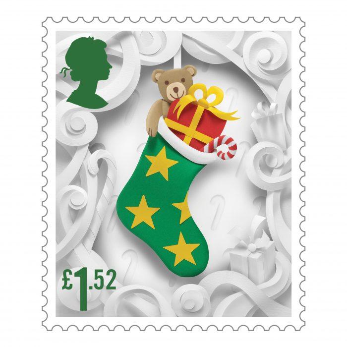Royal Mail Christmas Stamps 3