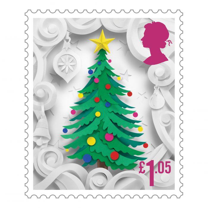Royal Mail Christmas Stamps 2